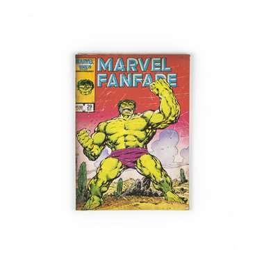 Marvel Comics canvas Hulk - 70 x 50 cm  Verwelkom de sterke Hulk in je slaapkamer met dit canvas van Marvel Comics. Je kunt dit canvas eenvoudig aan de muur ophangen of op je kastje zetten.  EUR 21.99  Meer informatie