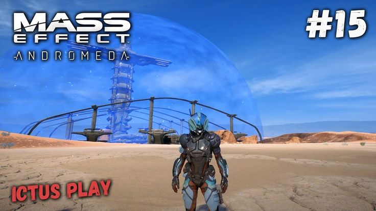 Прохождение Mass Effect Andromeda ► База кеттов на Эос. Инвиктор. #15 [P...
