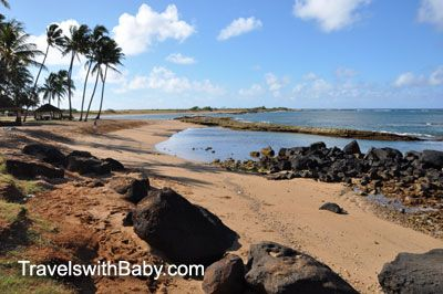 Kauai's Salt Pond Park: Beach haven for little kids and little critters | Travels With Baby Tips