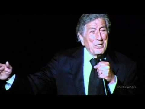 "Tony Bennett ""I Left My Heart In San Francisco"" Live in Concord - Cheek ..."