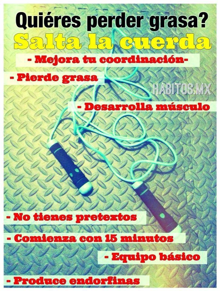 Hábitos Health Coaching | Saltar la cuerda es un EJERCICIO SUMAMENTE COMPLETO.