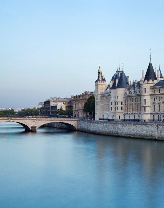 Ile de la Cité, Conciergerie, Boulevard du Palais, Paris I.