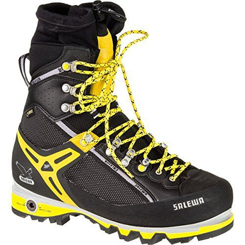 Salewa Men's MS Pro Vertical M Mountaineering Boot, Black/Yellow, 9 M US - http://authenticboots.com/salewa-mens-ms-pro-vertical-m-mountaineering-boot-blackyellow-9-m-us/