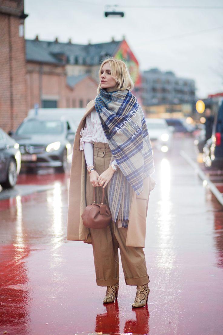 The Best Street Style At Copenhagen Fashion Week AW18+#refinery29uk