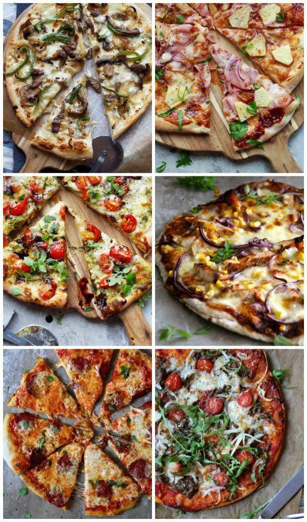 pizzaoppskrifter