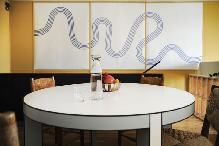 Pierre Charpin, Appartement N°50. Photo © Philippe Savoir & Fondation Le Corbusier/ Adagp FRUTTIERA IN ACCIAIO ALESSI || DESIGN PIERRE CHARPIN 2013
