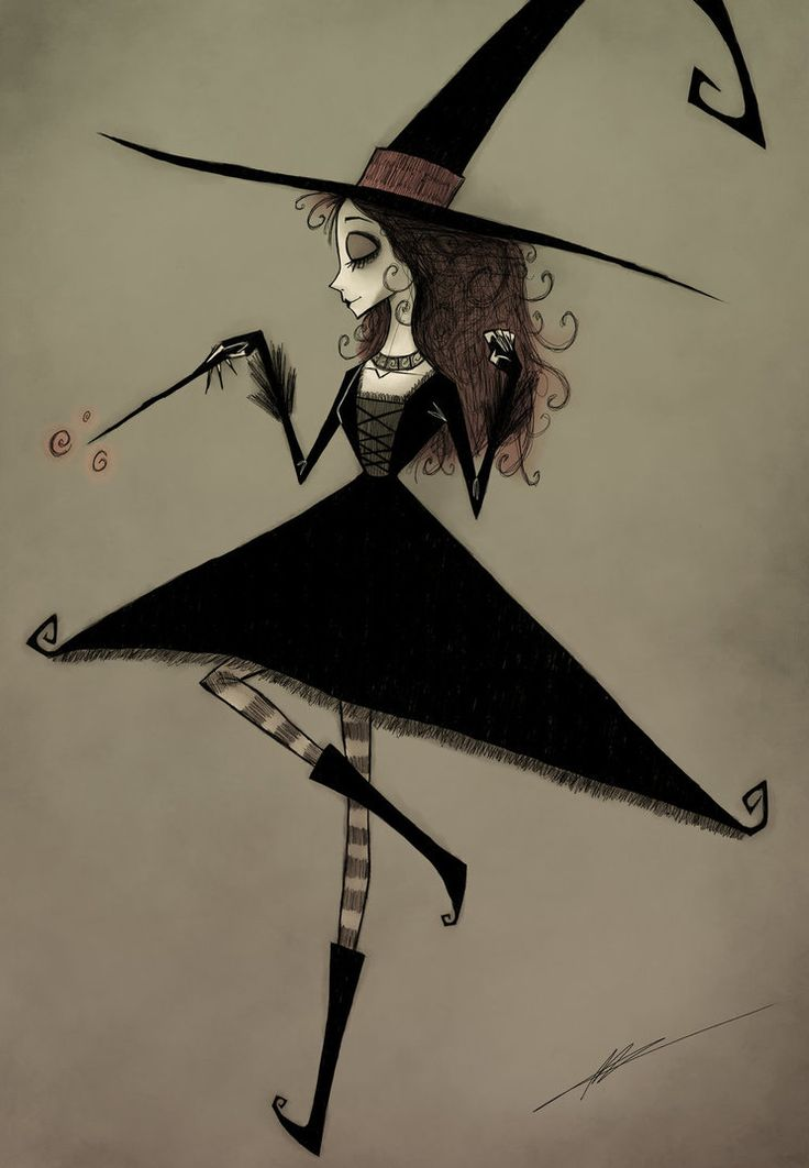 Burton Commission - Witch by A-Spooky-Stranger on DeviantArt