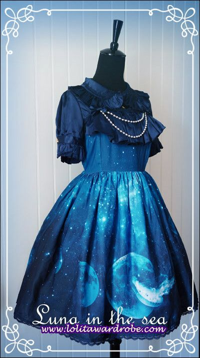 R-series -Luna In The Sea- Lolita Jumper Skirt