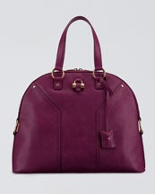 YSL satchel.Love the color