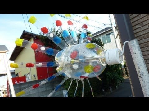 ▶ How to make a Plastic Bottle Windmill - YouTube