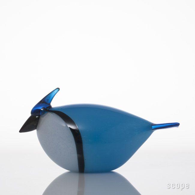 """Oiva Toikka iittala """"Blue Jay"""" 2003"""