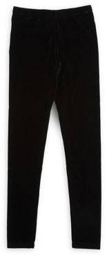 Manguun Girl's Velvet Leggings