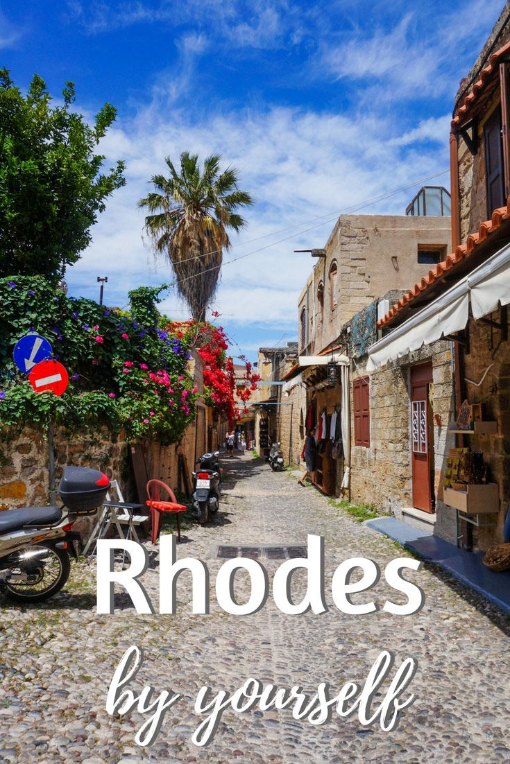 Rhodes travel guide - how to plan a trip and explore this island in Greece by yourself