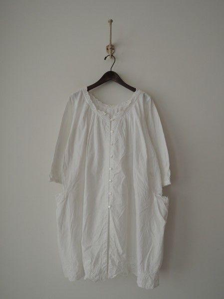 InJapan.ru — ... soil * Хлопок вышивка входит туника рубашка * Хлопок блузка 0914 — просмотр лота
