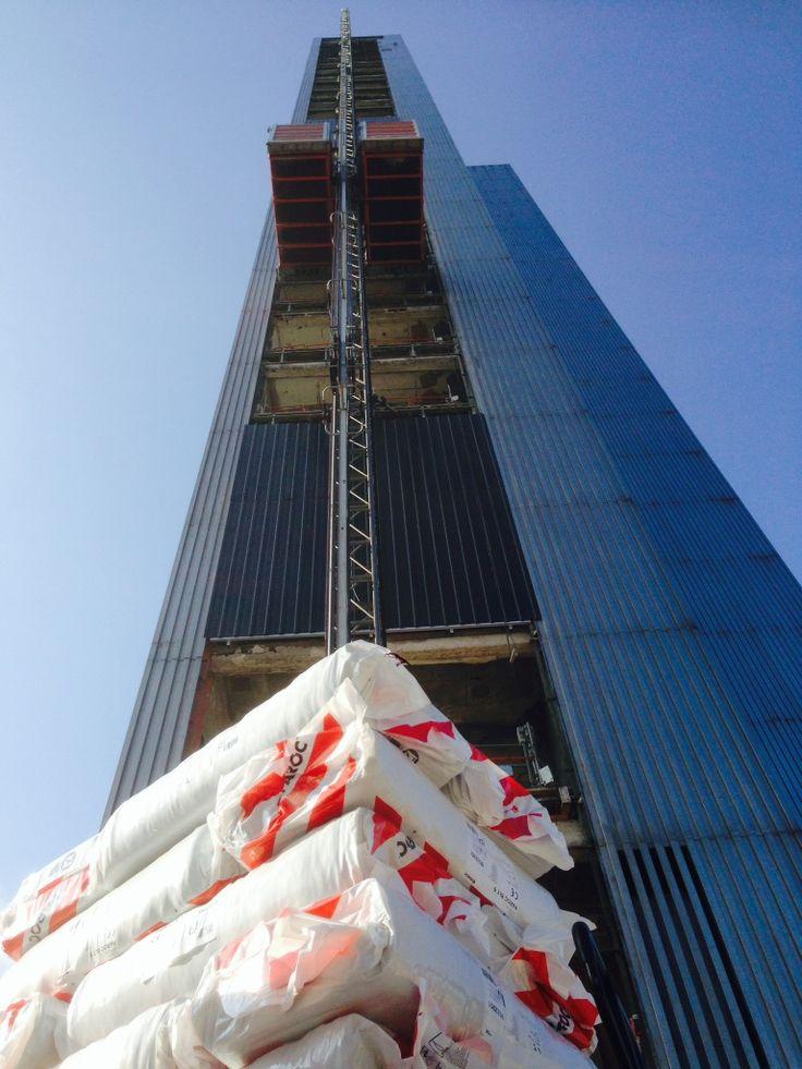 Einblasdämmung Dreischeibenhaus - Wärmedämmung - Dämmung Flachdach - energetische Sanierung mit Steinwolleflocken
