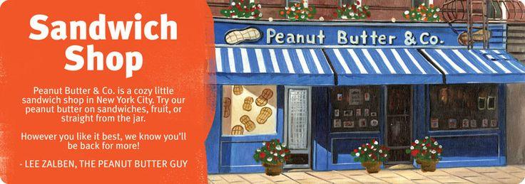 Peanut Butter & Co. Sandwich Shop