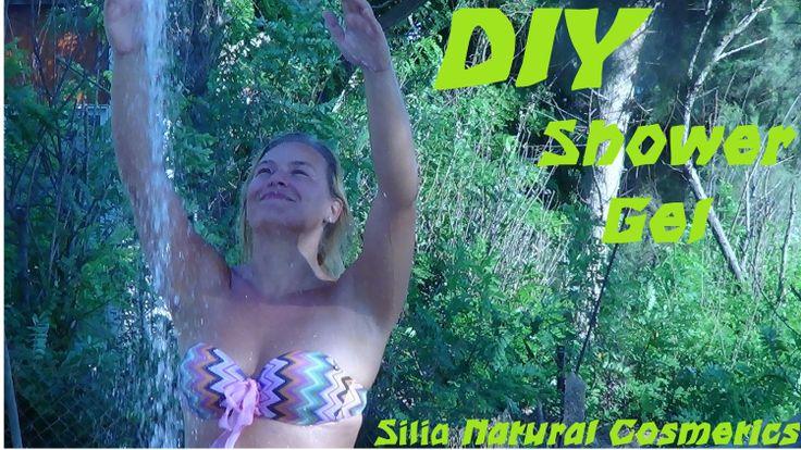 DIY: shower gel