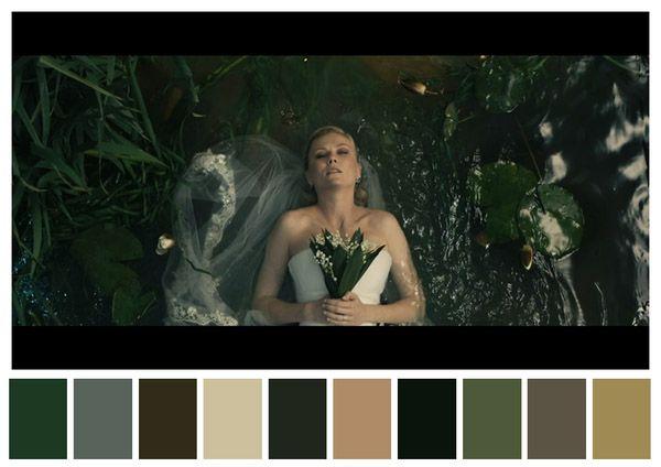 Cinema Palettes: as principais cores de grandes clássicos do cinema em paletas;