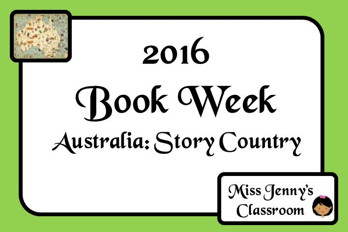 """Book Week 2016. A soon to be jammed packed board of ideas and activities to celebrate """"Australia: Story Country"""". A one-stop board of ideas for this year. Miss Jenny's Classroom."""