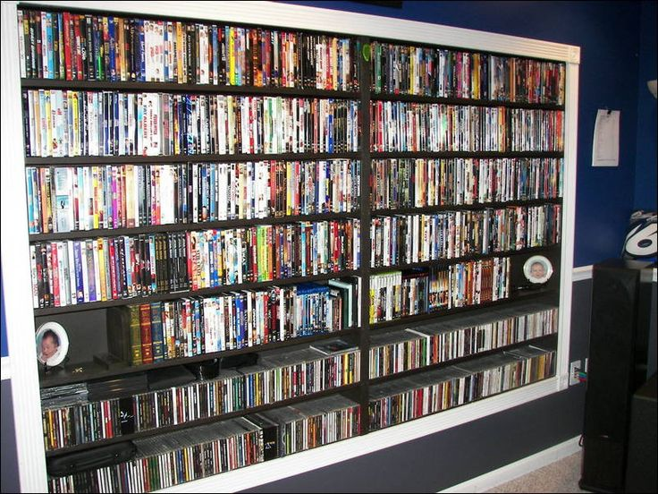 Dvd Storage, Movie Storage, Storage Ideas, Music Rooms, Decor Ideas,  Interior Design, Sweet, Movies, Interior Design Studio