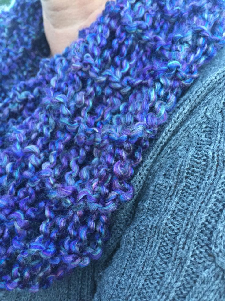 A personal favorite from my Etsy shop https://www.etsy.com/ca/listing/467413190/hand-knit-scarf