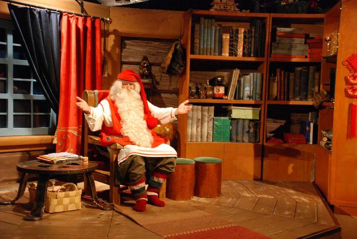 Santa's Village, Rovaniemi - Finland.... aka expensive to sit on Santa's lap!