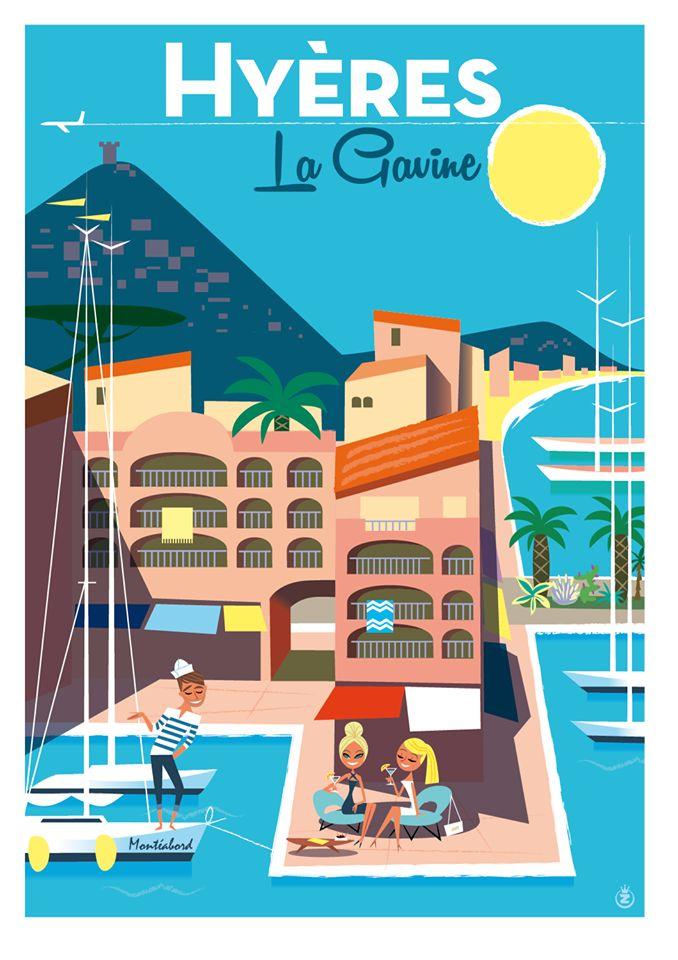 Le port de la Gavine à Hyères /Monsieur.Z