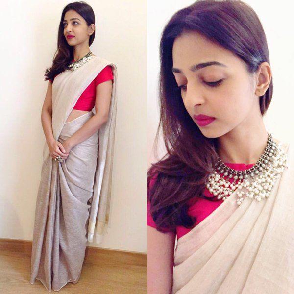 Indian actor, Radhika Apte's gorgeous minimal style!