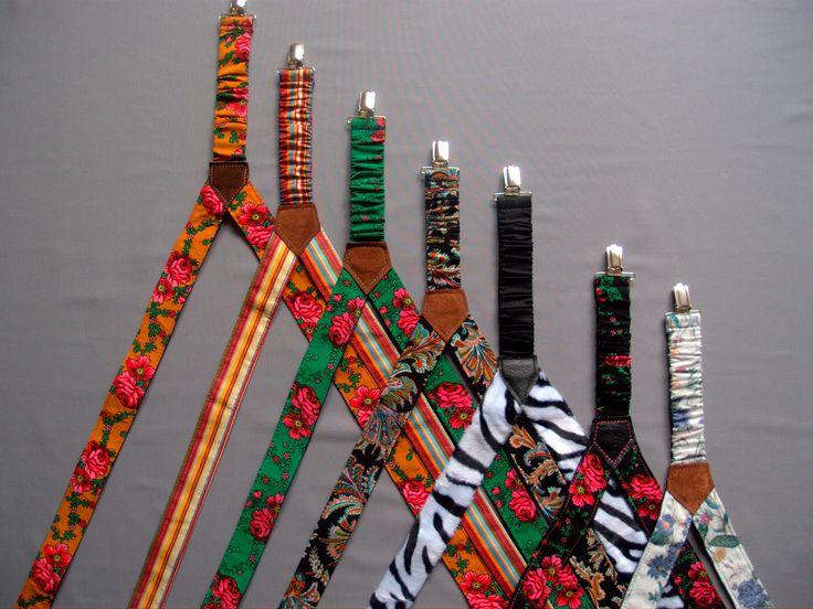 Womens suspenders,mens suspenders REVERSABLE $35