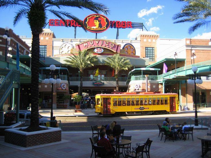 Trolley in ybor city florida my florida pinterest