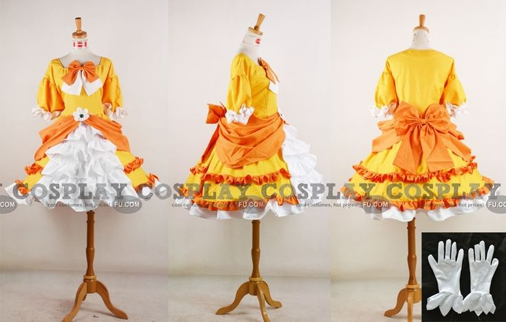 Princess Daisy Cosplay from Super Mario $147.00 :: Lc- think I'm gonna use this as inspiration for a Halloween costume :-)