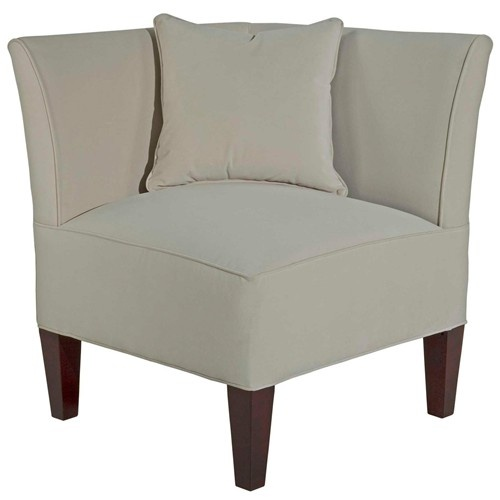Caitlyn left facing corner chair with track arms by for Broyhill caitlyn chaise