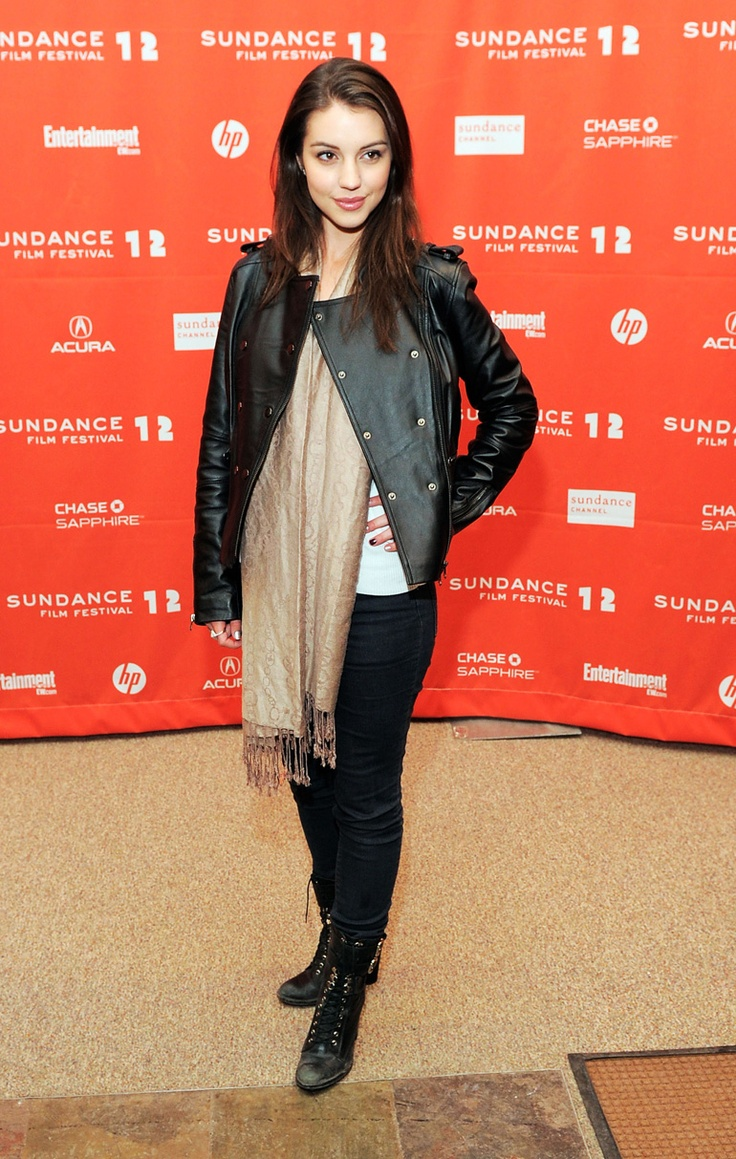 Actress Adelaide Kane attends the GOATS premiere during the 2012 Sundance Film Festival. (Photo by Jemal Countess/Getty Images)