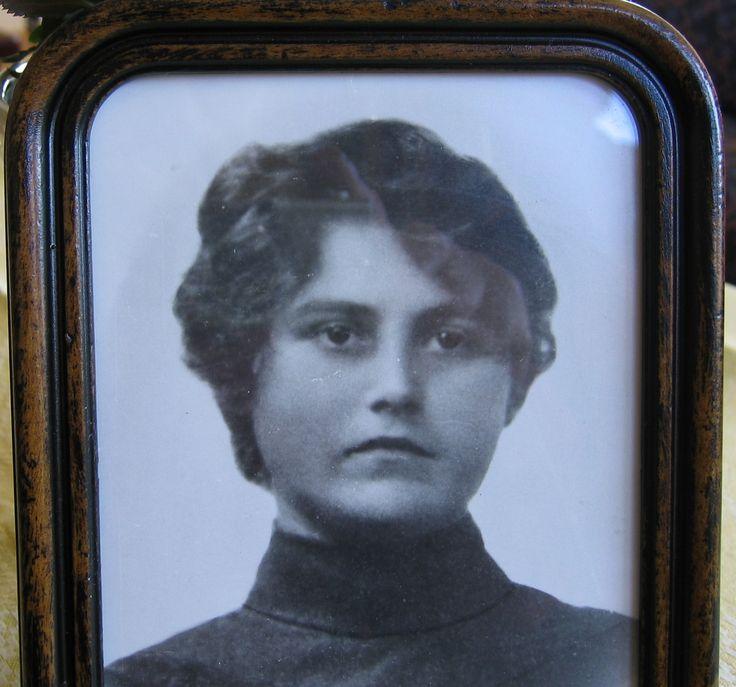 Ingeborg Lima, 18 years. My great grandmother