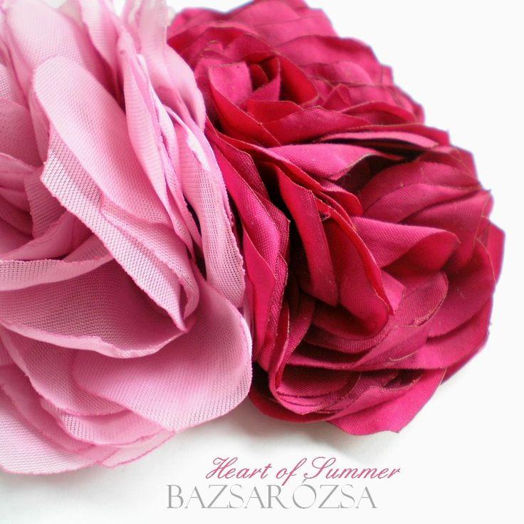 rózsaszín, virág, Bazsarózsa, hajdísz