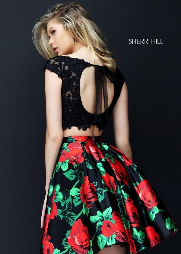 Sherri Hill 50603 · Two Piece Homecoming DressHomecoming DressesLovely  DressesFormal ...