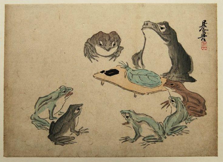 Shibata Zeshin: - British Museum    Artist: Shibata Zeshin    Date: 1807-1891 (artist)        Source: British Museum