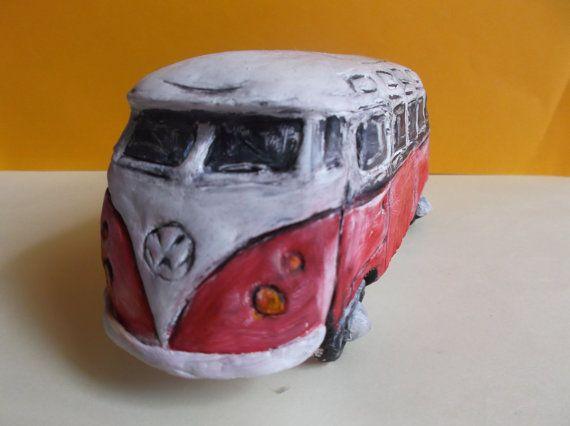 Carrinha Volkswagen Kastenwagem T1 by PaperPaste on Etsy