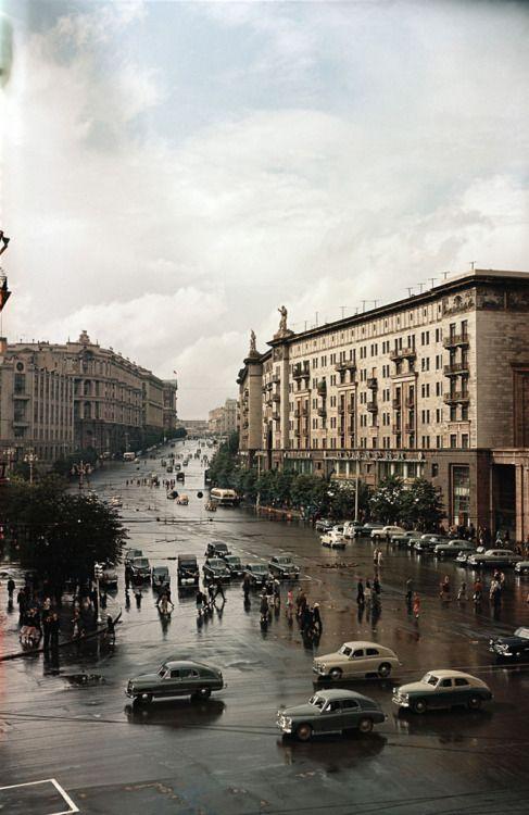 Tverskaya street (1958)