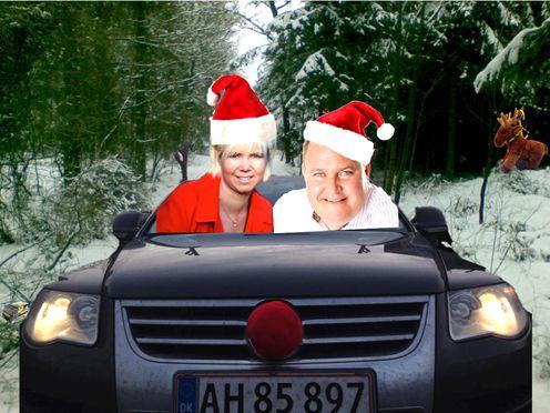 Netværk, gæster og gode venner bød 2013 på hos Mekonomen Autoteknik - ES Motor, her i form af Karina og Henrik Ørum Nissen på juletur i en let redigeret udgave fra www.es-motor.dk/billeder.html