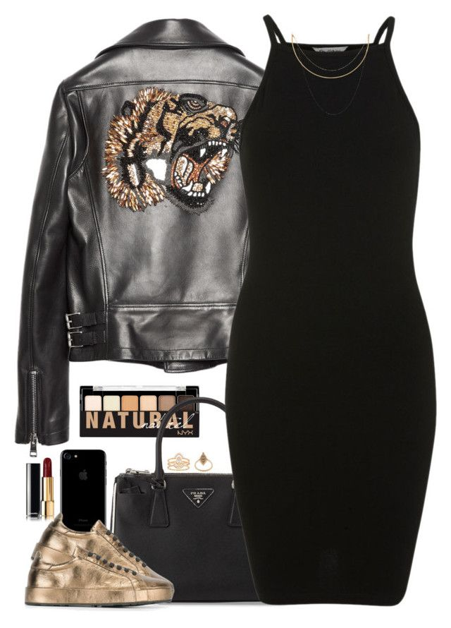 """Wildcat"" by oh-aurora ❤ liked on Polyvore featuring Gucci, NYX, Prada, Jil Sander, Miss Selfridge, LC Lauren Conrad, Elise Dray and Afin Atelier"