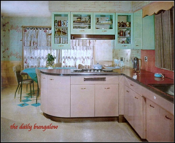 1950 Kitchen Design 309 best vintage kitchens images on pinterest | vintage kitchen