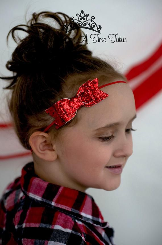 Newborn Headband Infant Headband Christmas Headband Baby Hair Bow Holiday Headband Headband Baby Headband Red Green /& Gold Headband