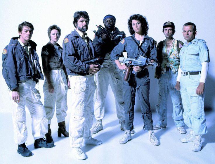"""Crew from """"Alien."""""""
