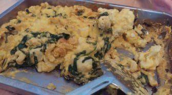 Veganized recept: pasta uit de oven met bloemkool en kaassaus Geschreven door Cecile Bol voor Eigenwijs Blij.  Ik ben dol op bloemkool maar niet zo'n ster in variatie op het vlak van bloemkool. Vroeger was bloemkool per definitie onderdeel van aardappel-groente-vlees; tegenwoordig meestal van aardappel-groente-vleesvervanger. Dit recept - vroeger met kaassaus nu met een naar-kaas-smakende groentesaus - ontstond in een poging om wat meer variatie op het gebied van bloemkool te…