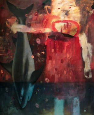 "Saatchi Art Artist deny pribadi; Painting, ""confused: release me"" #art"