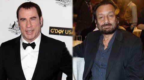 Hollywood actor John Travolta in Shekhar Kapur's Paani