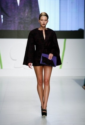 Paris Valtadoros catwalk at 12th AXDW