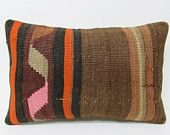 16x24 euro kilim pillow brown throw pillow brown decorative pillow bed pillow case rug pillow nautical home decor modern cushion cover 24270