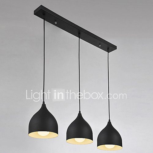 3 Lights E26/E27 Pendant Light ,  Modern/Contemporary for Living Room / Bedroom / Dining Room / Kitchen / Study - USD $115.99 ! HOT Product! A hot product at an incredible low price is now on sale! Come check it out along with other items like this. Get great discounts, earn Rewards and much more each time you shop with us!
